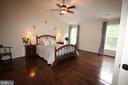 Master bedroom has 3 ft.extension - 47429 RIVER FALLS DR, STERLING