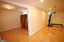 Den/office in lower level has a full size closet - 47429 RIVER FALLS DR, STERLING