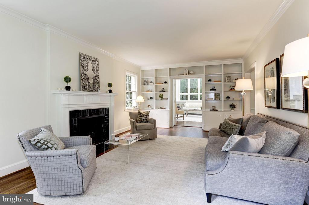 Living Room - 4649 GARFIELD ST NW, WASHINGTON