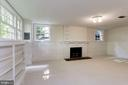 Lower Level Recreation Room - 4649 GARFIELD ST NW, WASHINGTON