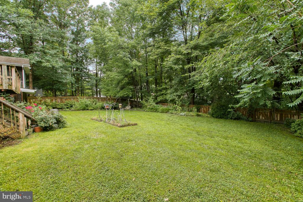 Your private backyard oasis! - 3802 RAYNOLD CT, FREDERICKSBURG