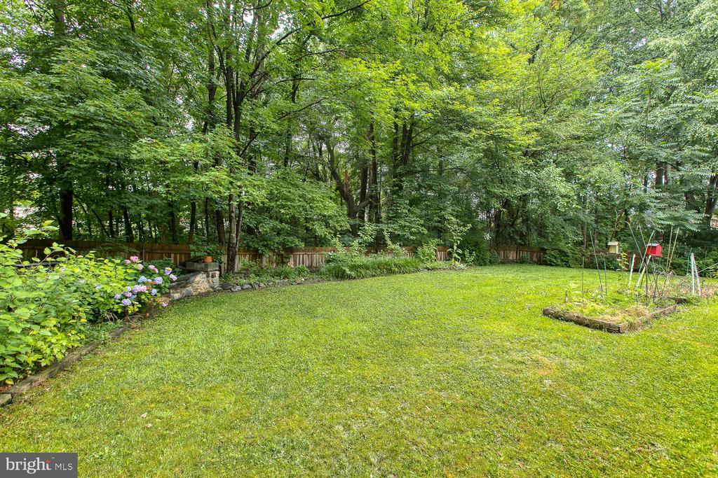 Beautiful landscaping and the privacy! - 3802 RAYNOLD CT, FREDERICKSBURG