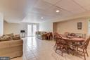 Lower Level Recreation Room - 2256 WILCOM CT, IJAMSVILLE