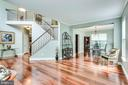 Formal living and dining - 43221 DARKWOODS ST, CHANTILLY