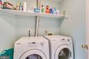 Convenient upper level laundry - 43221 DARKWOODS ST, CHANTILLY