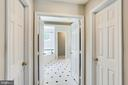 Two walk-in closets - 43221 DARKWOODS ST, CHANTILLY