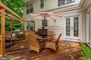Outdoor dining - 43221 DARKWOODS ST, CHANTILLY