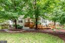 Professionally landscaped yard - 43221 DARKWOODS ST, CHANTILLY