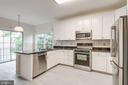 Kitchen w/ Granite Counters - 47383 DARKHOLLOW FALLS TER, STERLING