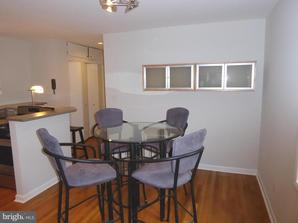 Dining room- newly refinished floors - 1340 VERMONT AVE NW #6, WASHINGTON