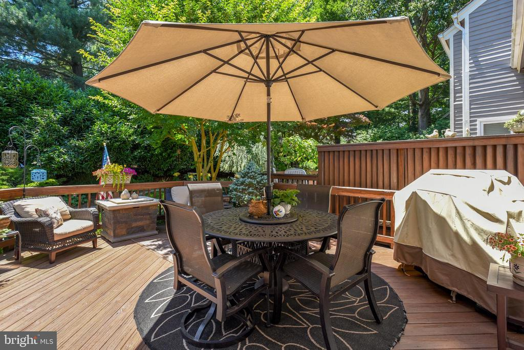 Inviting Deck for Dining - 11627 CHAPEL CROSS WAY, RESTON