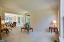 Family Room to dining area - 6711 HUNTERS RIDGE RD, MANASSAS