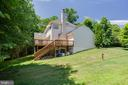 Side Exterior of Home - 6711 HUNTERS RIDGE RD, MANASSAS