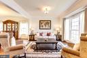 Living Room - 12290 CRANFORD DR, WOODBRIDGE