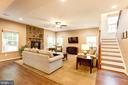 Family Room - 12290 CRANFORD DR, WOODBRIDGE