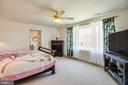 Master with Picture Window and Beautiful View - 21 AQUIA CREST LN, STAFFORD