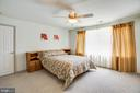 BR #3 - Oversized Bedroom with Waterfront View - 21 AQUIA CREST LN, STAFFORD