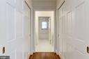 First level Master Bedroom Closets - 4649 GARFIELD ST NW, WASHINGTON