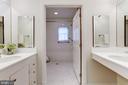First Floor Master Bathroom - 4649 GARFIELD ST NW, WASHINGTON