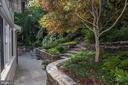 terrace and garden - 4649 GARFIELD ST NW, WASHINGTON