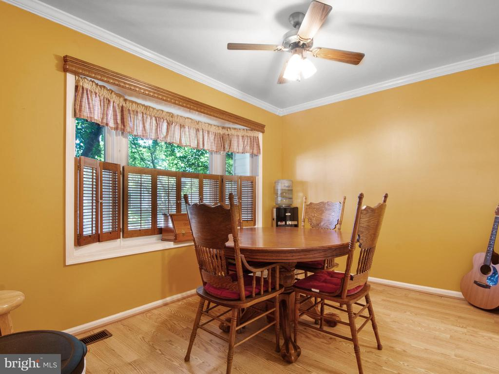 Dining Room with Bay Window - 9168 KERSHAW CT, MANASSAS