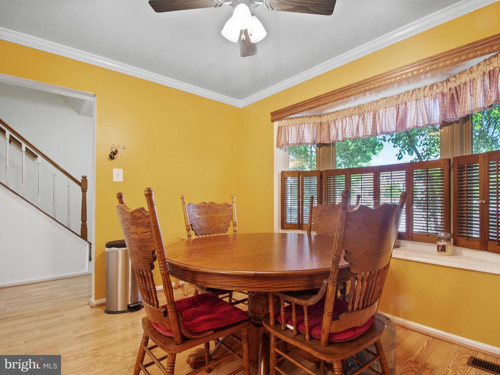 Dining Room - 9168 KERSHAW CT, MANASSAS