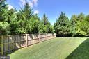 Private Lush Backyard - 9891 CHAPEL BRIDGE ESTATES DR, FAIRFAX STATION