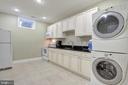 Amazing Laundry Space - 9891 CHAPEL BRIDGE ESTATES DR, FAIRFAX STATION