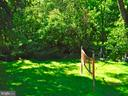 Large fenced yard, backs to trees & stream - 7724 AMHERST DR, MANASSAS