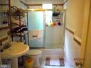 Full Bath on Main floor - 7724 AMHERST DR, MANASSAS