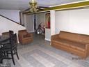 Large Family room in basement - 7724 AMHERST DR, MANASSAS