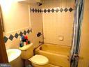 Full Bath in basement - 7724 AMHERST DR, MANASSAS