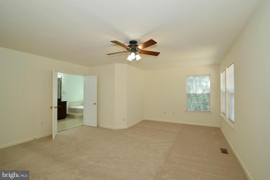 Master Bedroom with Bath en Suite - 416 LAWFORD DR SW, LEESBURG