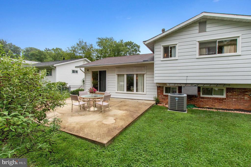 Backyard - 713 CARTER RD, ROCKVILLE
