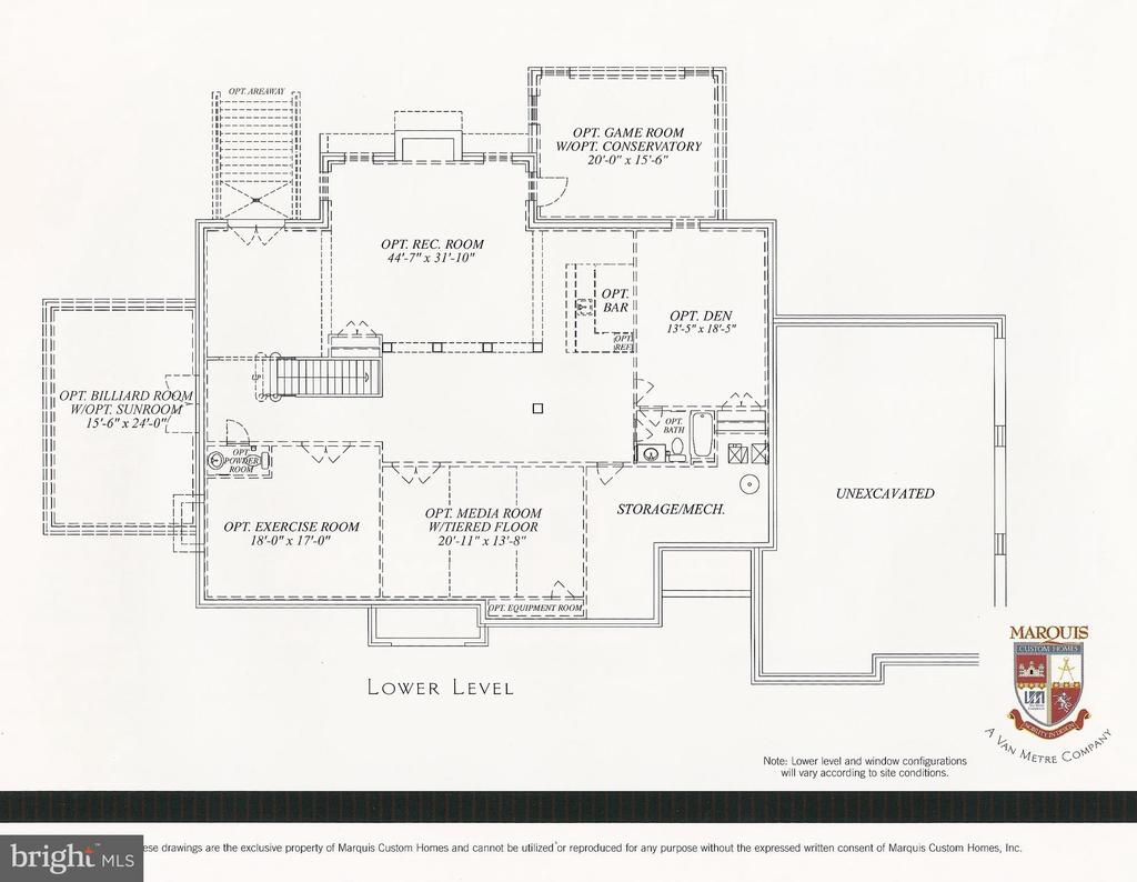 Upper Level Floorplan (Mirror) - 41727 PUTTERS GREEN CT, LEESBURG