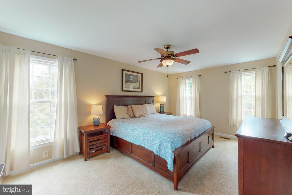 Large Master bedroom - 11707 OLD BAYBERRY LN, RESTON