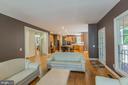 Family Room adjacent to Kitchen - 4524 MOSSER MILL CT, WOODBRIDGE