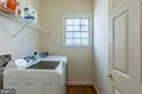 Laundry with Upscale Washer and Dryer - 4524 MOSSER MILL CT, WOODBRIDGE