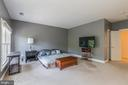 Owners' Bedroom with His and Her Closets - 4524 MOSSER MILL CT, WOODBRIDGE
