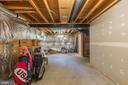 Storage Galore in lower level - 4524 MOSSER MILL CT, WOODBRIDGE