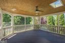 Splendid Screened Porch for 3 Seasons - 4524 MOSSER MILL CT, WOODBRIDGE