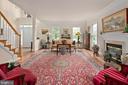 Living Room - 17504 CARLSON FARM CT, GERMANTOWN