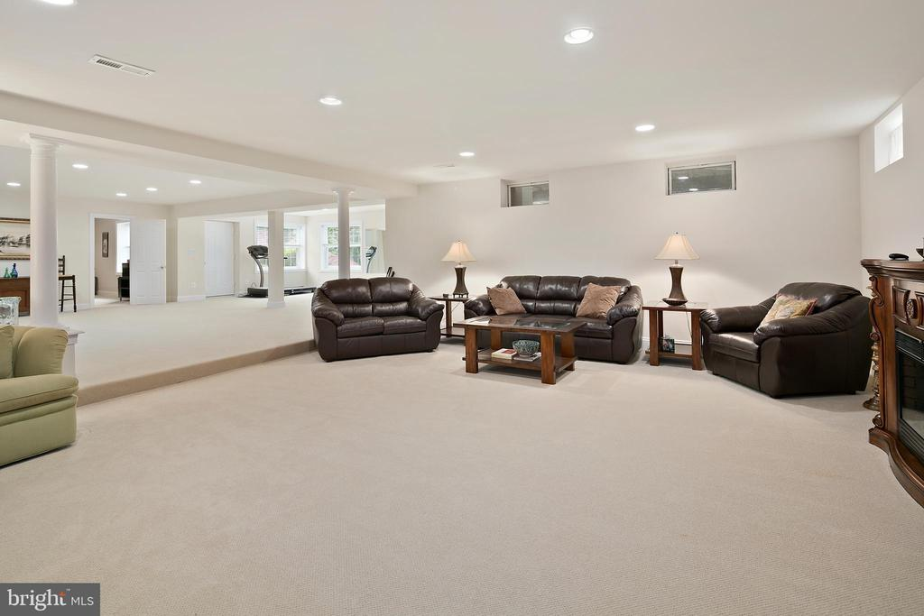 Lower Level 2nd Family Room - 17504 CARLSON FARM CT, GERMANTOWN