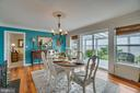 Dining room offers great views! - 134 WALLER POINT DR, STAFFORD