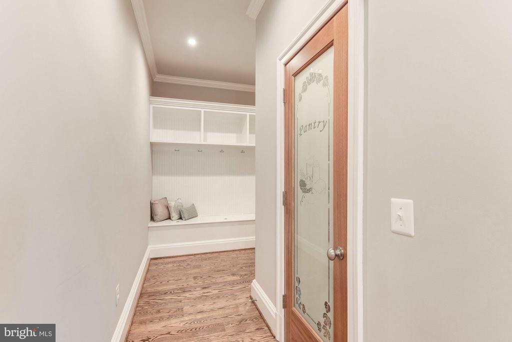Large walk in pantry and mudroom area to garage. - 2015 ARLINGTON RIDGE RD, ARLINGTON