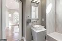 Main level powder/full bathroom - 2015 ARLINGTON RIDGE RD, ARLINGTON