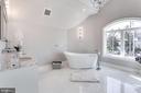 Owner's suite bath includes stand alone tub! - 2015 ARLINGTON RIDGE RD, ARLINGTON