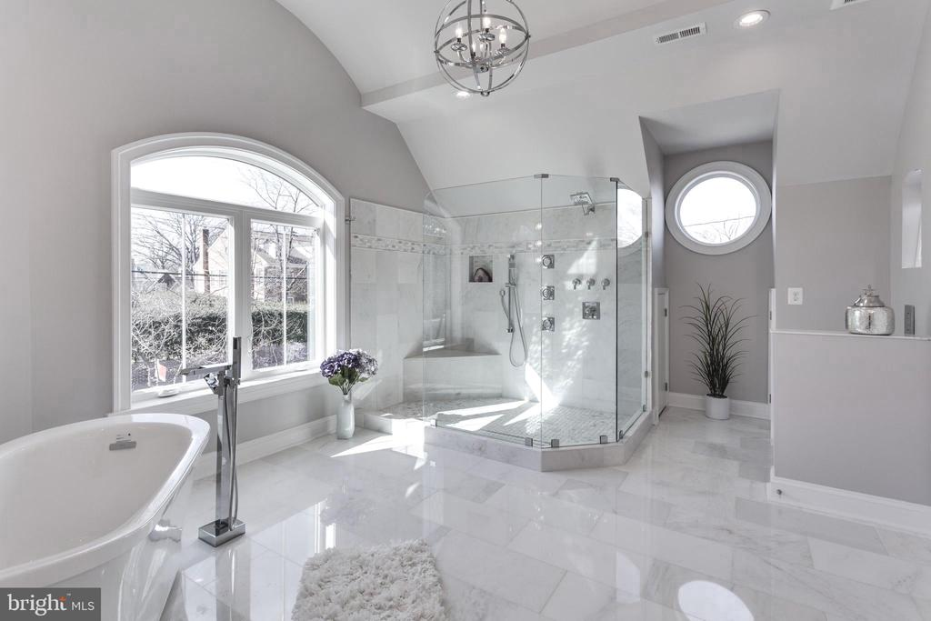 Marble from top to bottom - clean & stylish! - 2015 ARLINGTON RIDGE RD, ARLINGTON