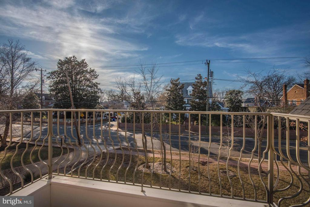 Incredible bedroom balcony views - 2015 ARLINGTON RIDGE RD, ARLINGTON