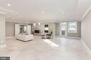 Incredible sprawling spaces in the lower level - 2015 ARLINGTON RIDGE RD, ARLINGTON